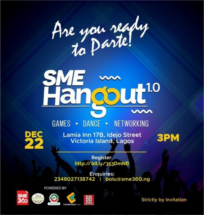 SME Hangout 1.0- It is Party Time!