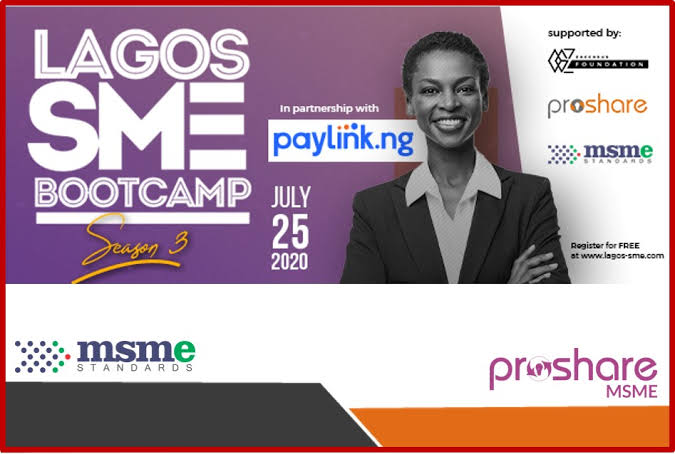 Lagos SME Bootcamp Set to Hold Virtual 3rd Edition on July 25